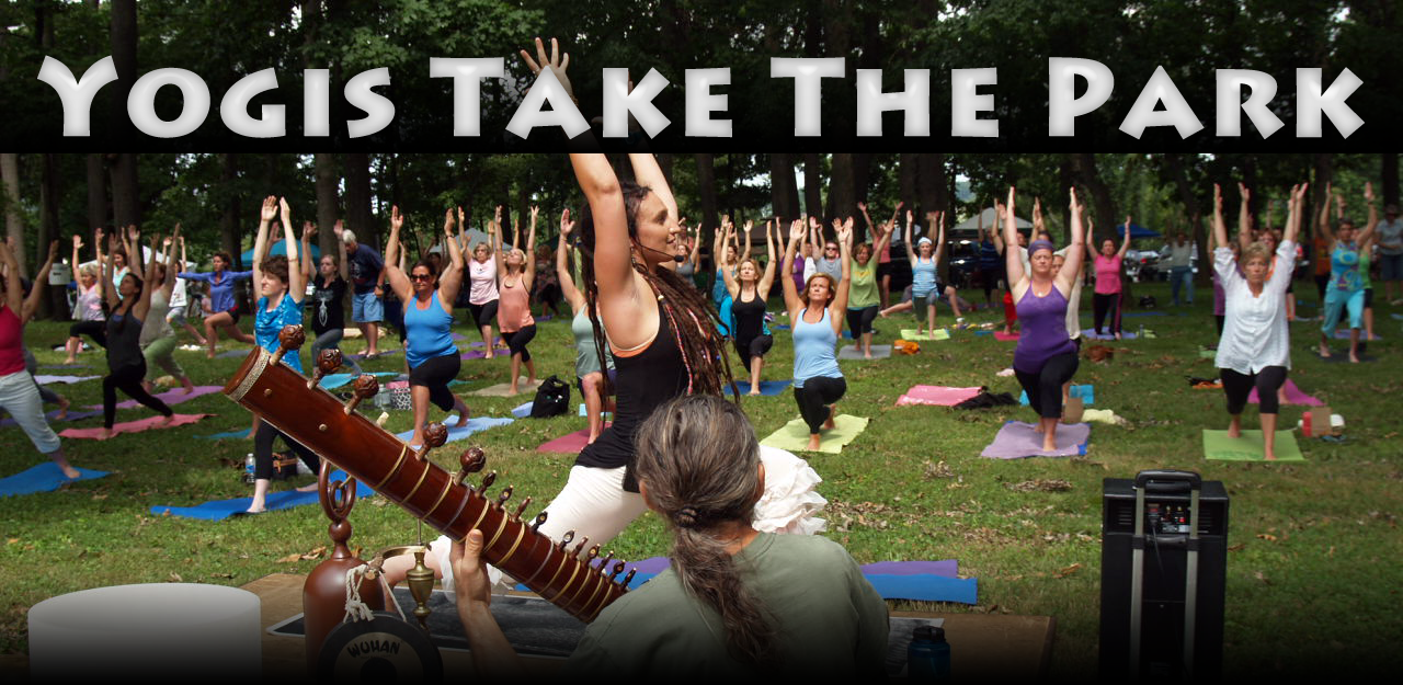 Yogis Take the Park with Namaste Networking